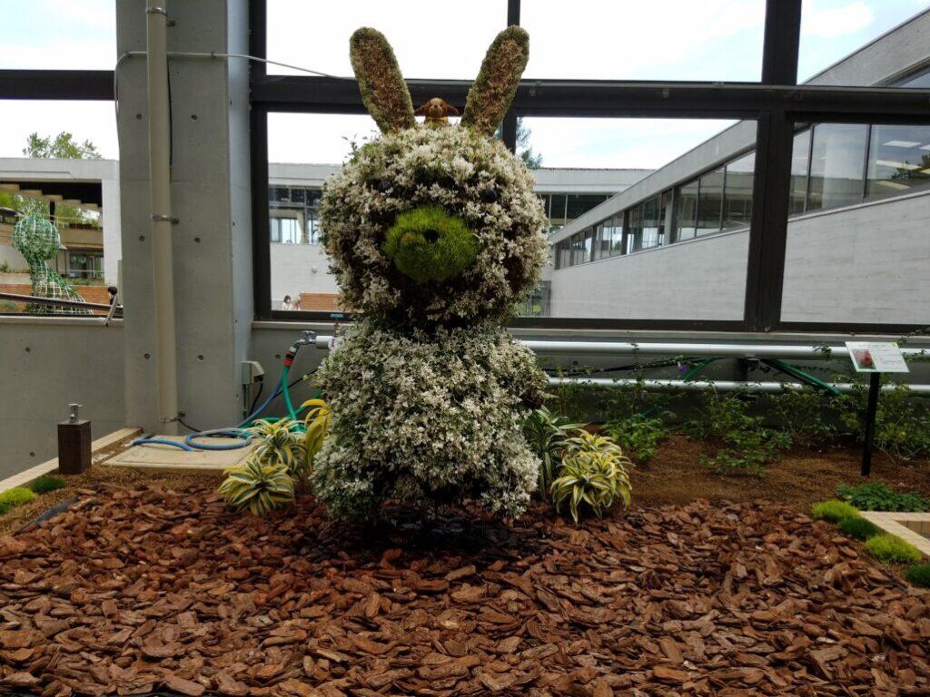 ウサギのモチーフ